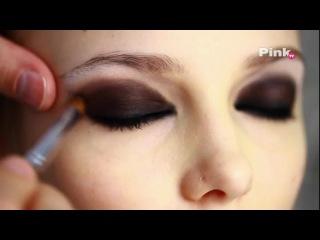Макияж smoky eyes (смоки айс, дымчатые глаза) видео урок.